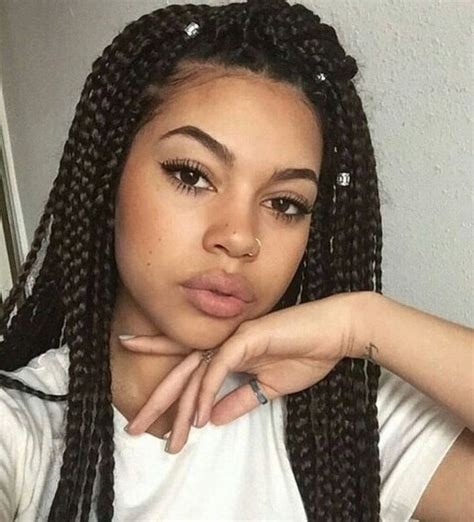 Box Braid Hairstyles Pictures by 1000 Ideas About Box Braids On Braids Locs