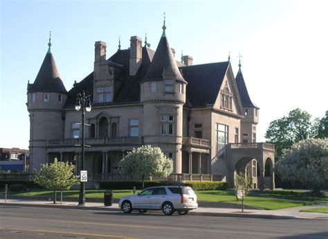 Building A Home In Michigan | file hecker house detroit michigan jpg wikimedia commons