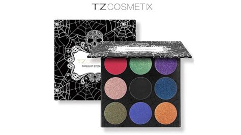 Tz Leopard Make Up Palette tz brand eyeshadow palette matte glitter