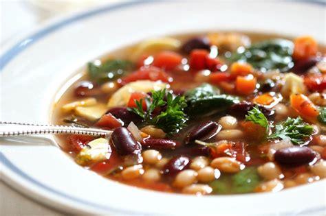 smokey vegetable bean soup eating well 101