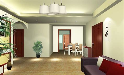 simple lighting design living room