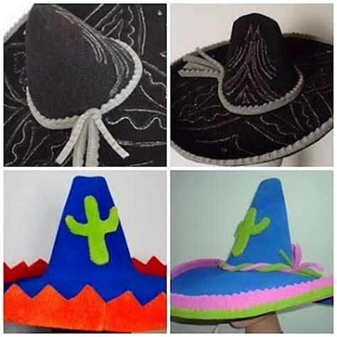 como hacer sombrero de charro con nieve seca 17 mejores im 225 genes sobre celebraci 243 n mexicana en