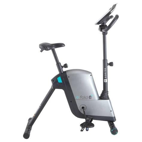cyclette da decathlon cyclette e fold domyos fitness cardio fitness