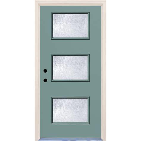 builder s choice 36 in x 80 in hemlock 10 lite interior builder s choice 36 in x 80 in surf 3 lite rain glass