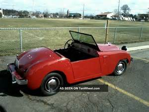 Crossley Ford 1952 Crosley Roadster