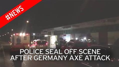 axe attack in germany germany axe attack points at problem with unaccompanied