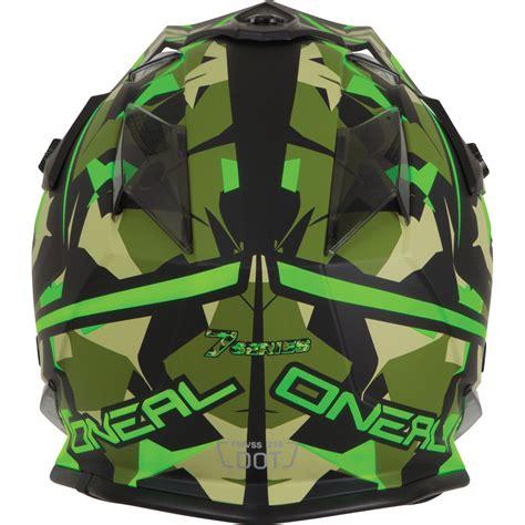 camo motocross helmet oneal 7 series evo camo green motocross helmet mx road
