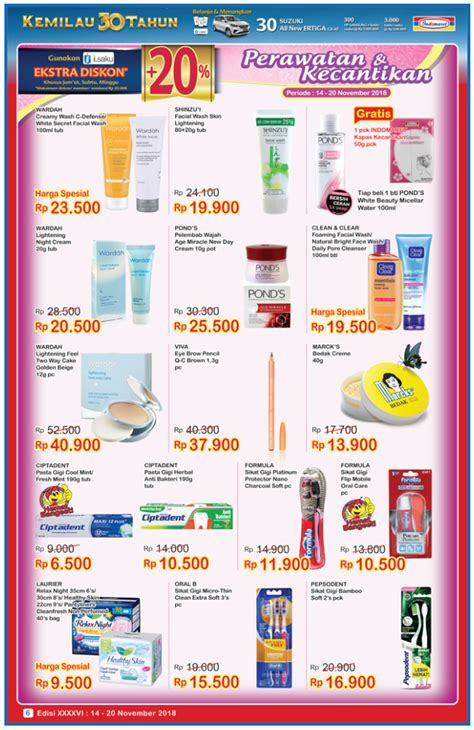 Harga Wardah White Secret Mini indomart archives promo dan voucher gratis