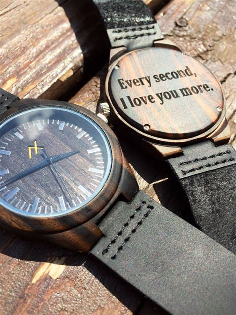 mens wood with custom engraving wooden by