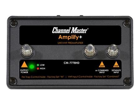 hdtv antenna preamplifers preamps pre amps  digital