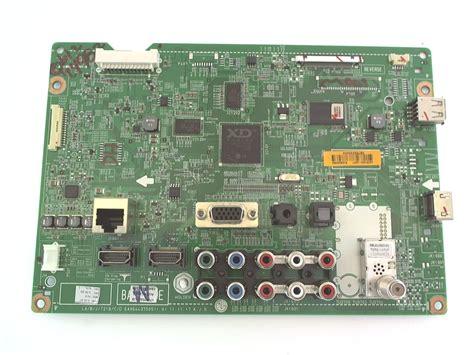 Sparepart Tv Led Lg lg tv model 47cm565 ub board part number ebt62032404