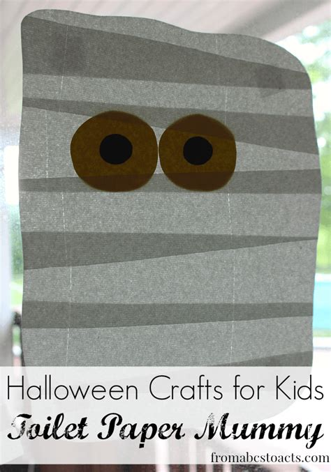 How Do They Make Toilet Paper - crafts for toilet paper mummy from abcs