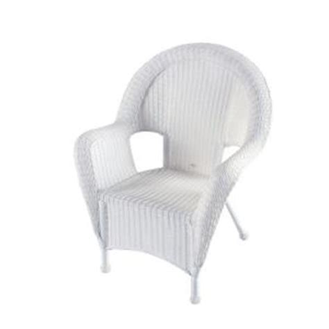 White Resin Wicker Chairs by White Resin Wicker Kingman Bayside Patio Furniture From