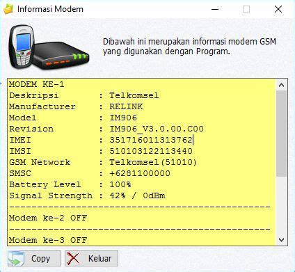 Modem Cyborg E488 gili sms dengan modem cyborg e488 4g lte