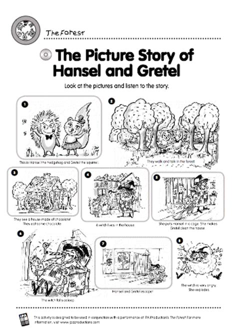 printable version of hansel and gretel the picture story of hansel and gretel stories and