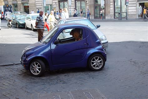 really small cars really small car rome flickr photo