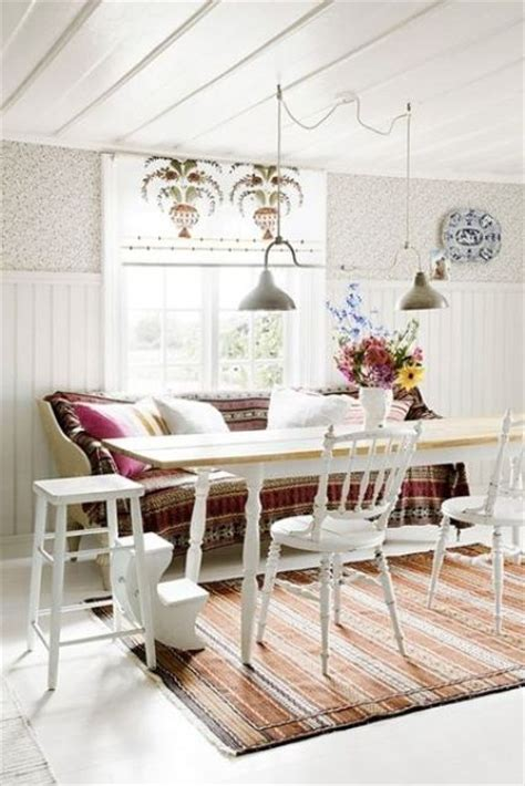 couch in dining room 39 original boho chic dining room designs digsdigs