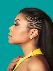 what type of hair does taraji henson weave get the look taraji p henson s side swept braids