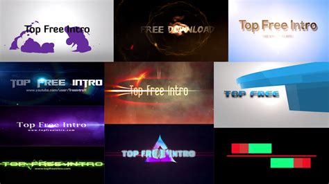 free intro templates for sony vegas choice image