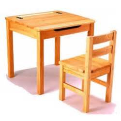 Childrens Desk And Chair Wooden Market Stall Play Le