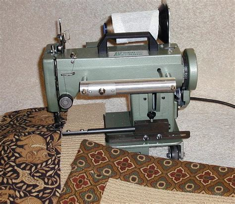 rug binding machine tapestry binding machines with all new combo option bond products inc