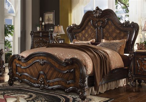 european king bed versailles royalty european king california bed solid wood