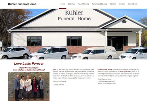kuhler funeral home dakotapc inc