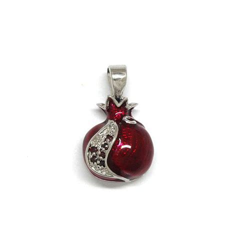 boat angel ministries review pomegranate pendant white gold filled with garnets and