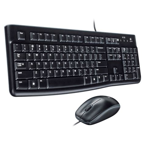 Keyboard Usb Logitech logitech desktop usb keyboard and mouse set rapid pcs