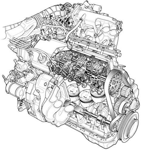 generic car cutaway wiring diagram and engine diagram