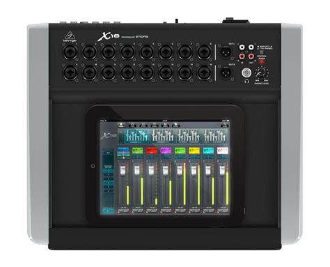 Mixer Digital Behringer X18 behringer x18 18 channel 12 digital wi fi module