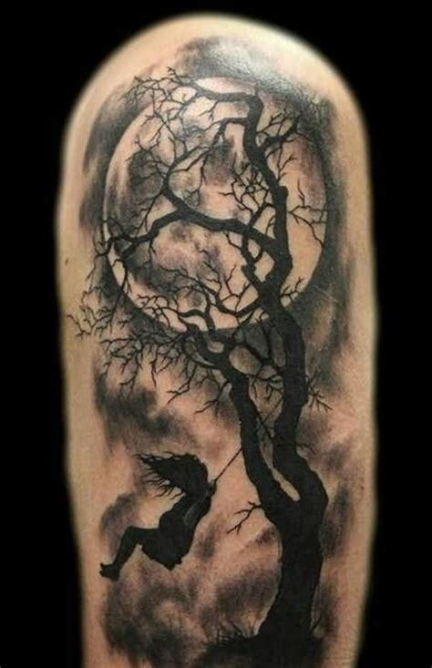 half sleeve tree tattoo designs tree images designs