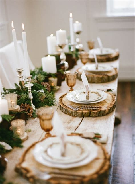 rustic tablescapes winter tablescape decorating ideas