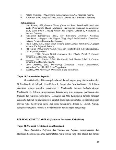Buku Visi Bernegara Arsitektur Konstitusi Demokratik ilmu negara rpp