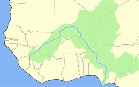 africa map niger river niger river blank mapsof net
