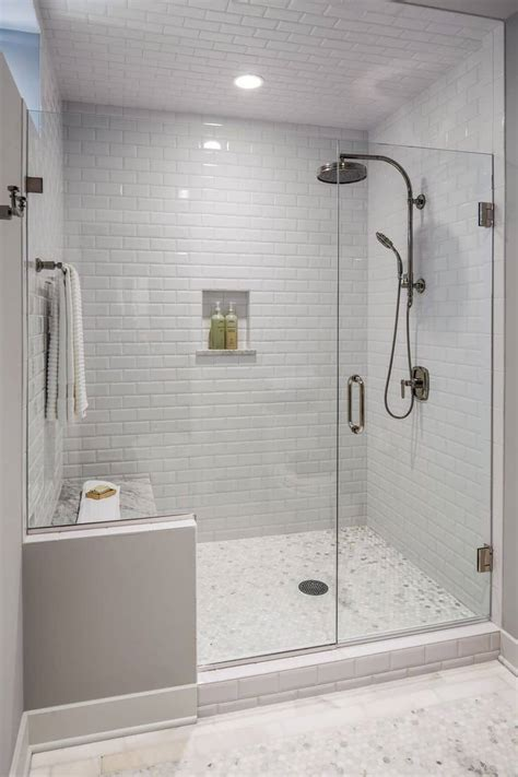 glass subway tile bathroom ideas best walk in shower ideas for your bathroom