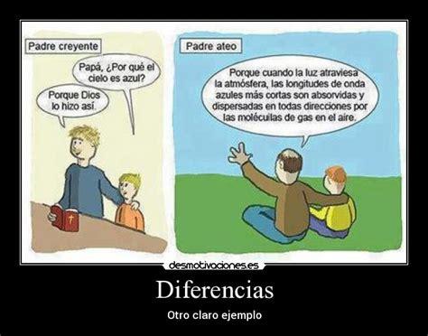 diferencia entre imagenes reales y virtuales carteles padre ateo padre cristiano desmotivaciones