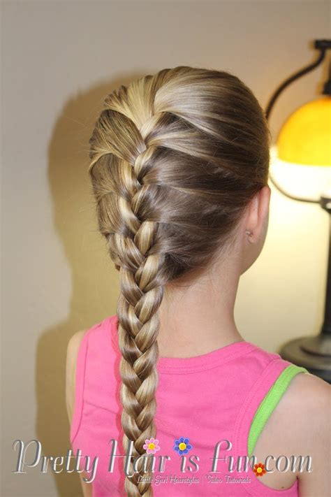 braids hairstyles how to do how to do a french braid tutorial pretty hair is fun