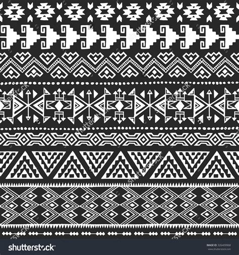 black and white aztec pattern fabric white and silver damask wallpaper on pinterest pillow