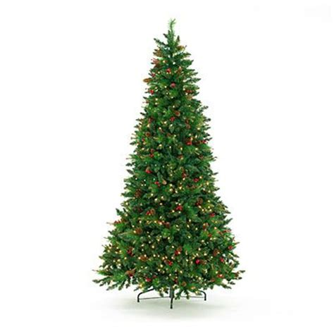 big lotts christmas trees biglots 7 5 pre lit artificial tree pinecones berries with clear lights at big