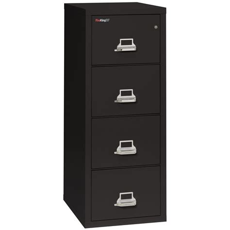 fireking 4 drawer letter size fireproof file cabinet ebay