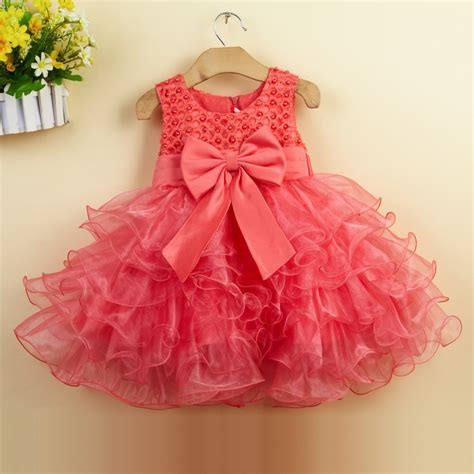 Baby Dress by Summer Baby Dresses 1 Year Baby Birthday Dress Bow