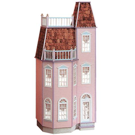 Playscale® Victorian Town House Dollhouse Kit ? Real Good Toys