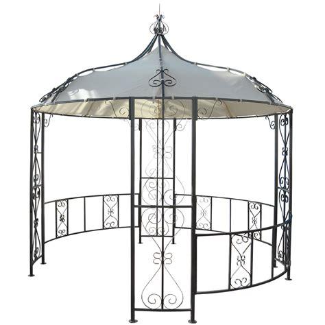 pavillon 3m pergola cabrera rundpavillon garten pavillon stabiles