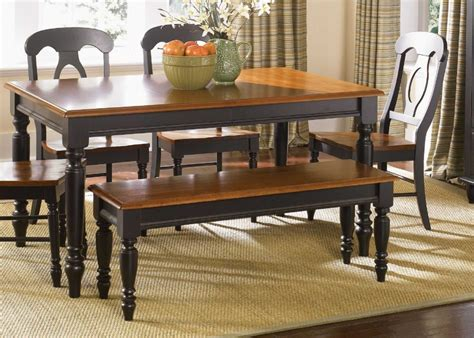 Kitchen Table Sets With Bench by Furniture Leg Dining Table With Turned Legs By