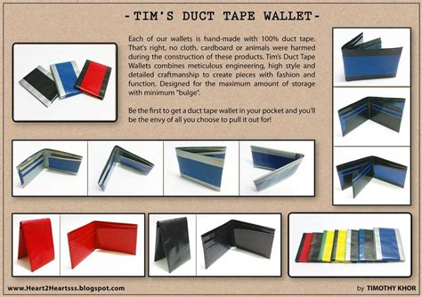 printable directions for a duct tape wallet duct tape wallet by tkyzgallery on deviantart