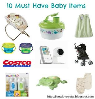 must have household items through crystal s eyes 10 must have baby items