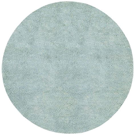 Artistic Weavers Cambridge Spa Blue 10 Ft X 10 Ft Round Area Rugs 10 X 10