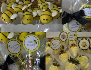 Bumble Bee Themed Baby Shower - mkr creations bumble bee baby shower