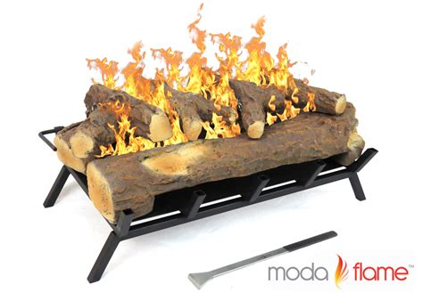 moda 24 quot convert to ethanol gas log fireplace burner